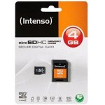 MICRO SD CARD 4GB CL4 INTENSO