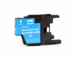 Brother LC-1220C LC-1240C inktcartridge cyaan (Compatible)